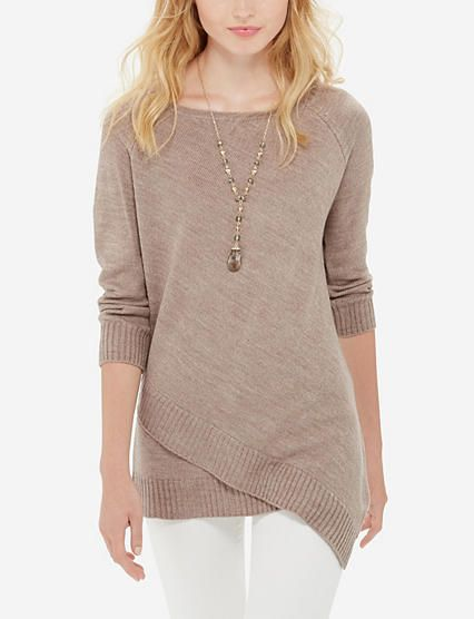 asymmetrical tunic sweater from thelimited.com more lowzfsa