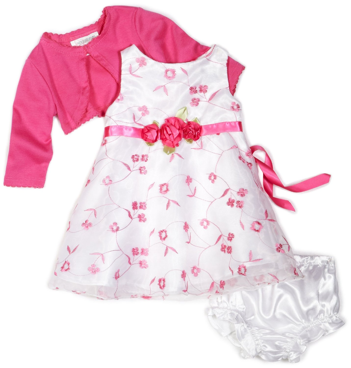 baby girl clothing images of babiesu0027 fashions | youngland baby girls infant 3 piece embroidery  dress zfykmjo
