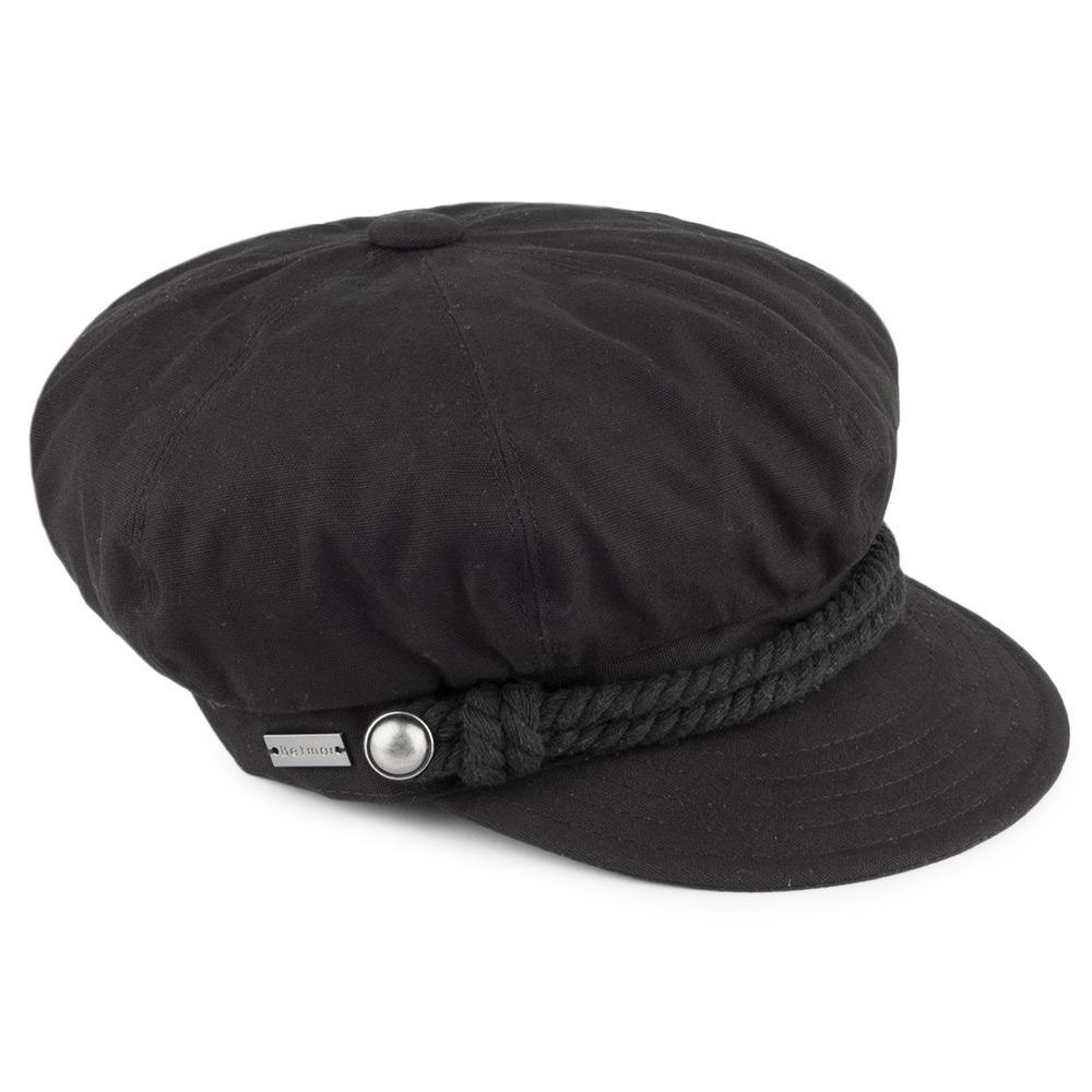 baker boy hat ... baker boy cap - black. loading zoom aukvmym