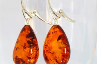 baltic amber earrings ... CERJFYZ