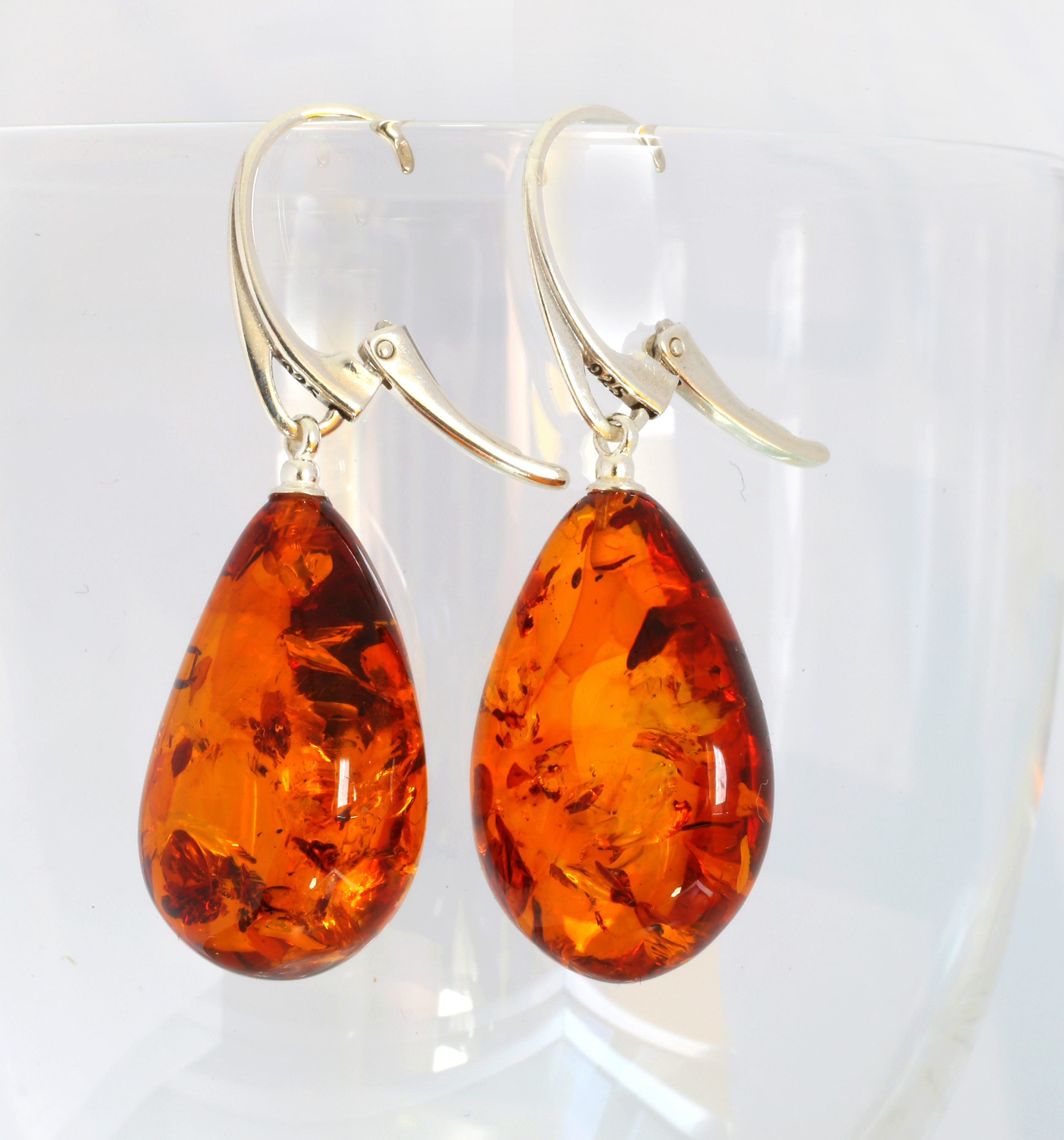 The significance of the amber earrings to a woman