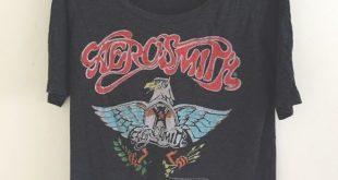 band tees aerosmith eagle band tee aeihepk