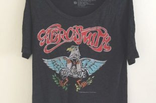 band tees aerosmith eagle band tee aeihepk