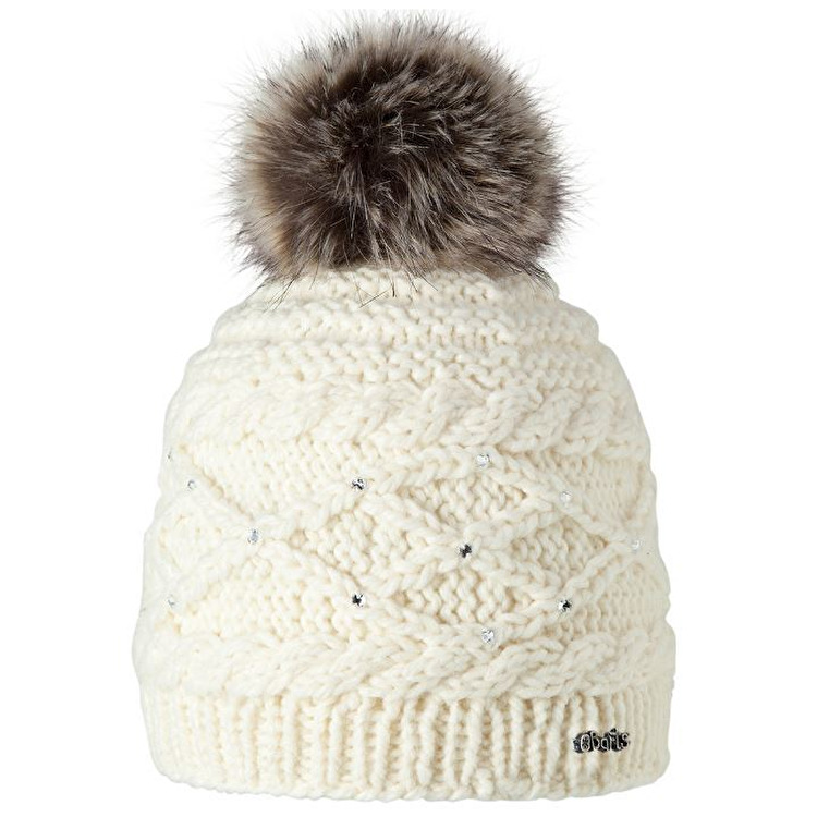 barts hats barts claire girls beanie - cream sksrkcu