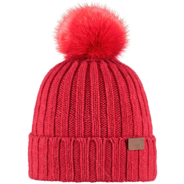 barts hats barts linda beanie ski hat in red dppyxdi