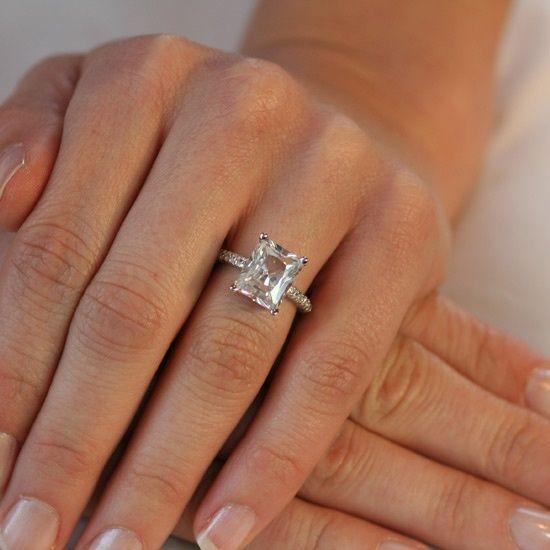 best 25+ emerald cut ideas on pinterest | emerald cut engagement, emerald  cut rings hcxhvzp
