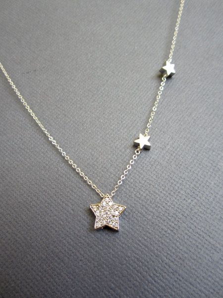 best 25+ star necklace ideas on pinterest | star jewelry, necklaces and  delicate jewelry jhdbadb