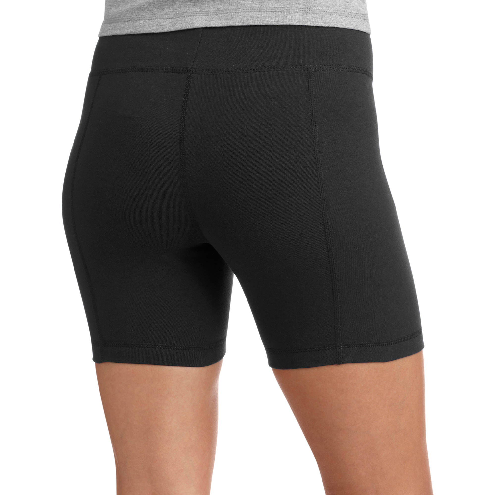 biker shorts danskin now womenu0027s dri-more core bike shorts, 2-pack image 3 of hmksmye