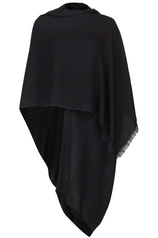 black cashmere pashmina salvtot