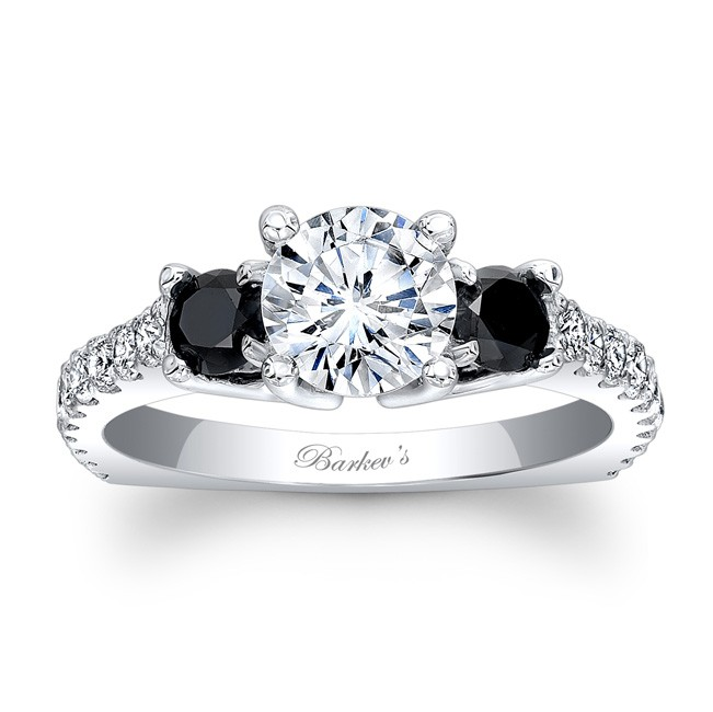 black diamond ring black diamond engagement ring DOBDYLZ