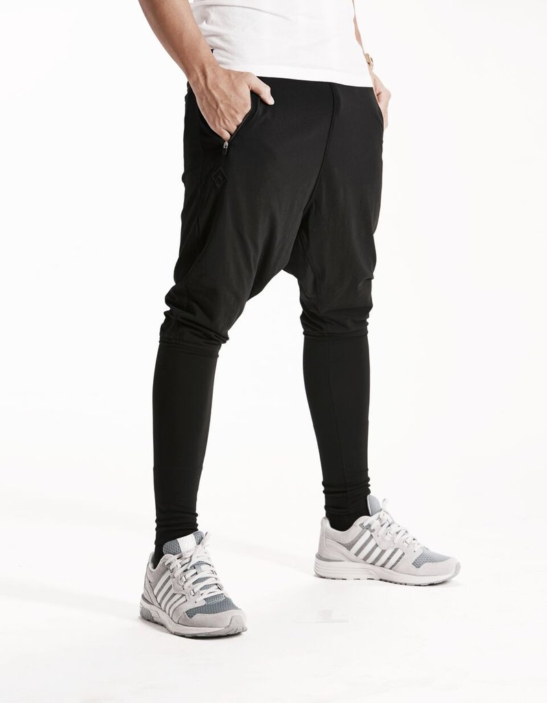 What should one know about black harem pants?