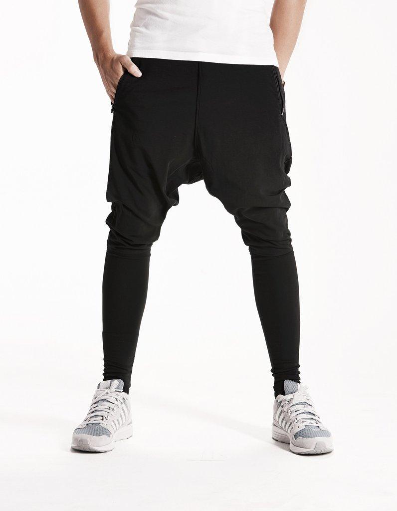 black harem pants essential - harem pants - (black ) lyfyhym