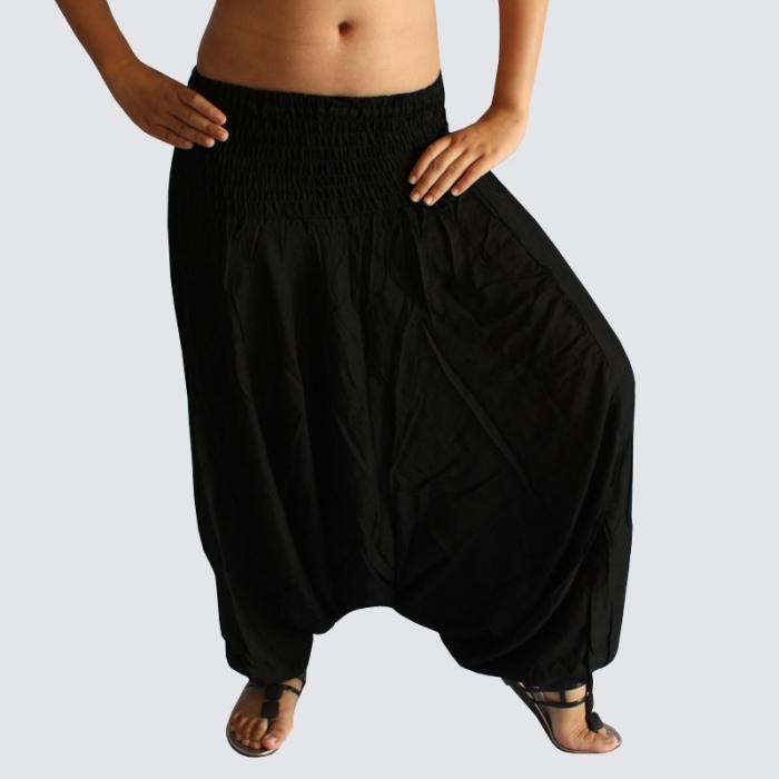 black harem pants zxpscam