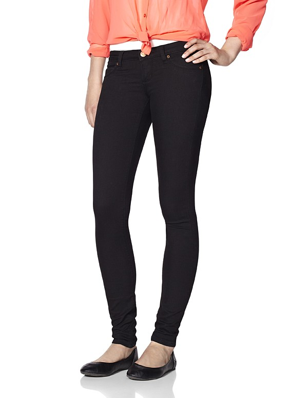 black jeggings black jegging - jeggings - garage ktlexnb