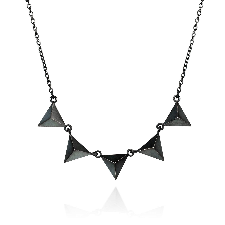 black necklace YOXBQZK