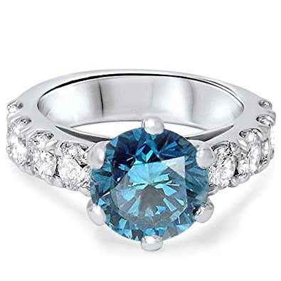 blue diamond engagement ring by unusual engagement rings review yjlekic