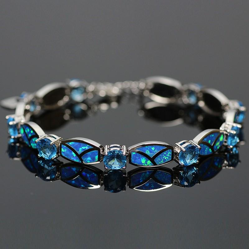 blue fire opal bracelet | magick jewelry fttqlzr