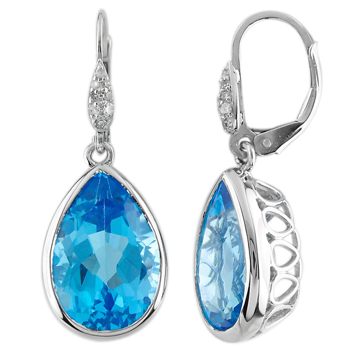 Selecting the right blue topaz earrings for that Unique Look