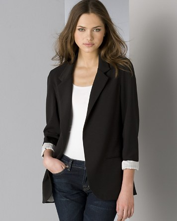 boyfriend jacket $aqua boyfriend blazer with striped lining - 100% exclusive - bloomingdaleu0027s rapljxt