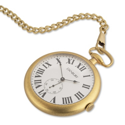 brass open-face pocket watch ... vnwsqvg