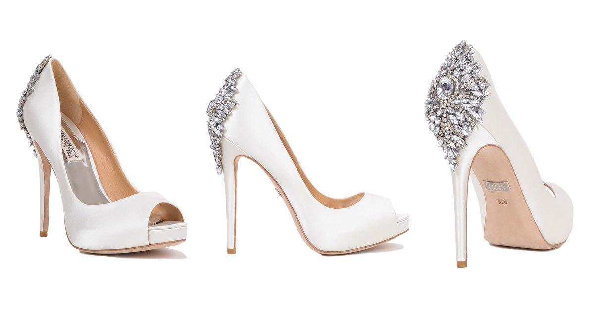 bridal heels wedding shoes from designer badgley mischka mqaqclt