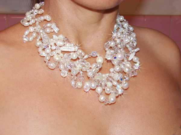 bridal necklaces unique venus pearl bridal choker necklace mdkfubc