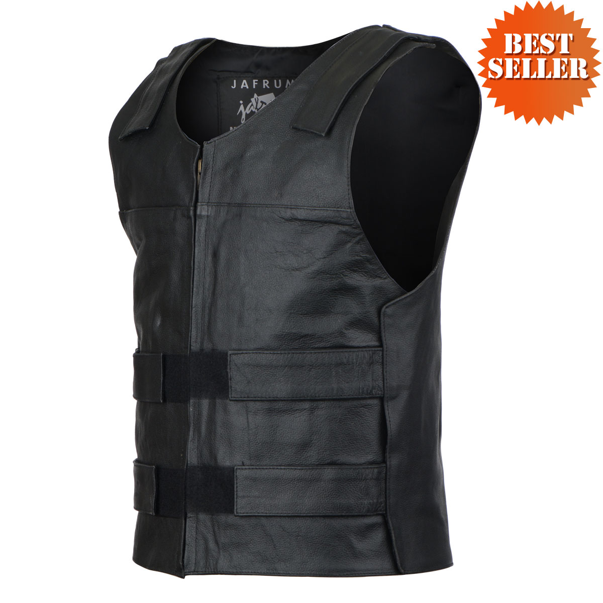 bullet proof style leather vest hjtgknk
