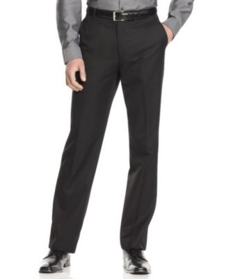 calvin klein menu0027s slim fit dress pants vvjrpfa