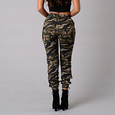 camouflage pants for women fashion women military army style pocket leggings camouflage camo casual  pants otzjpco