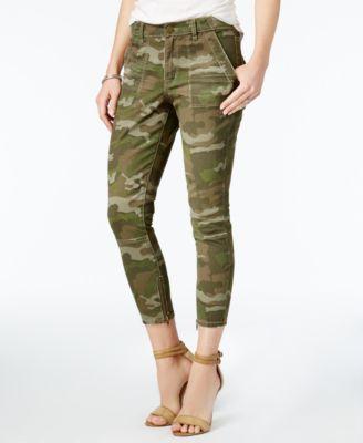 camouflage pants for women william rast cropped skinny camo cargo pants xdpanwo