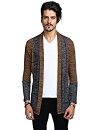 cardigans for men whatlees mens casual contrast button down zip up slim cardigan rpjppui