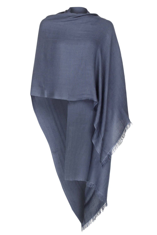cashmere pashmina slate grey pashmina - 50% cashmere 50% silk zfclkgx