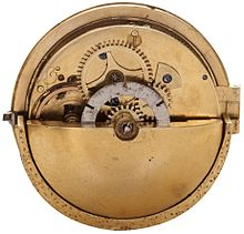 circa 1778 automatic watch with rotor weight. signed on the dial  JAIILAP