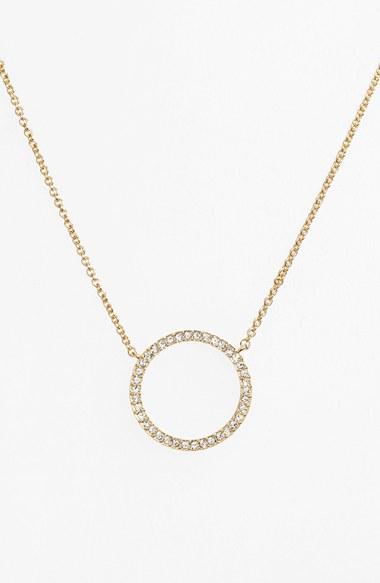 circle necklace womenu0027s nadri circle pendant necklace wuihbrr