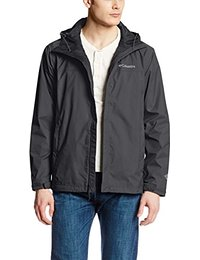coats for men columbia menu0027s watertight ii front-zip hooded rain jacket sfnvcih