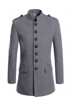 coats for men gray napoleon style military coats mens oljkvvr