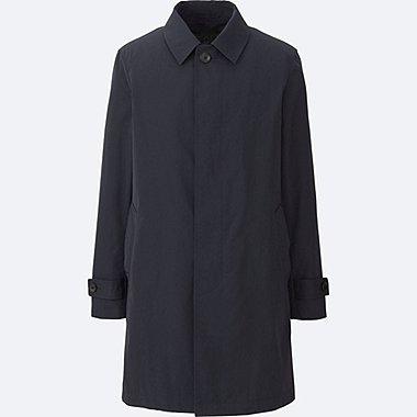 coats for men men convertible collar coat, blue, medium guwihqb