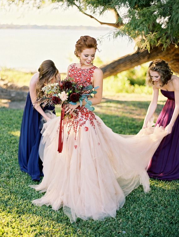 colorful wedding dresses 25 gorgeous looks for the offbeat bride! jsglrmv