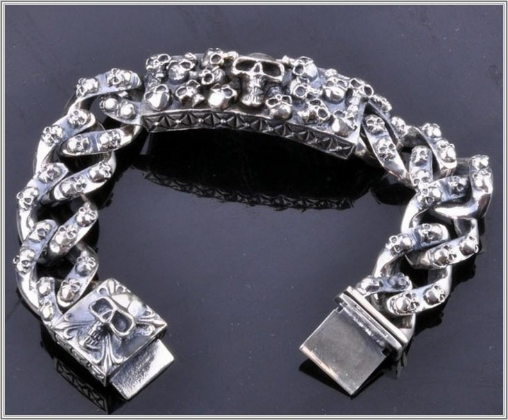 cool bracelet skull jewelry for men jfqsajy