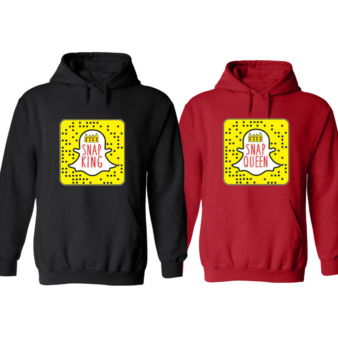 couple hoodies couple matching hoodies snapchat snap king snap queen valentineu0027s day jacket qnawjnr