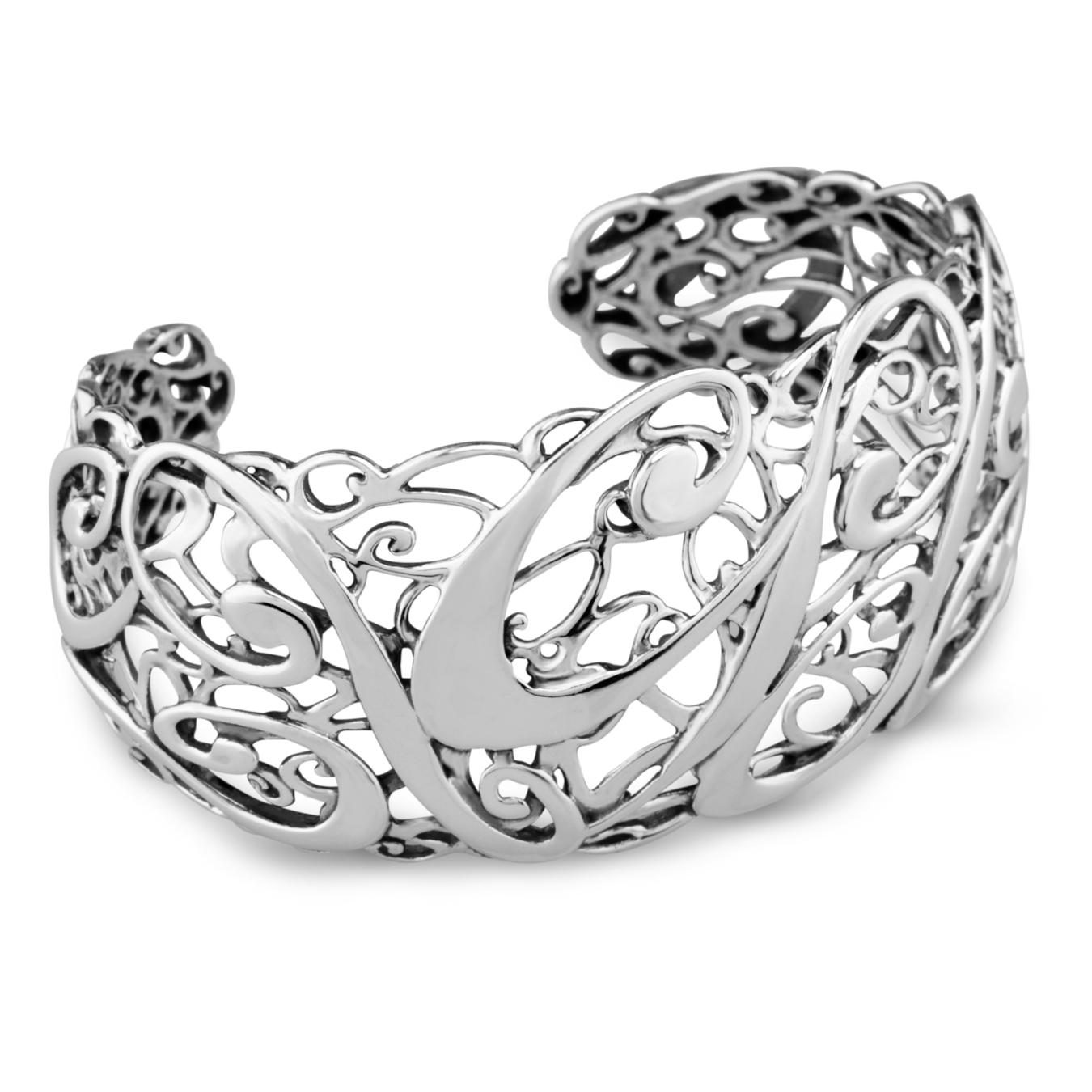 cp signature sterling silver cuff bracelet rbzpulx