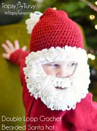 crochet baby hats crochet santa beard hat pattern fwksive