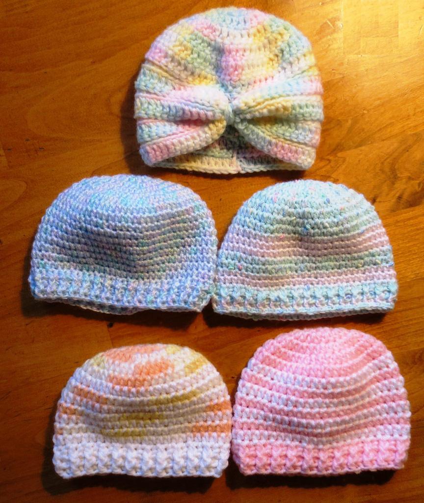 crochet baby hats here ... rqtbpbn