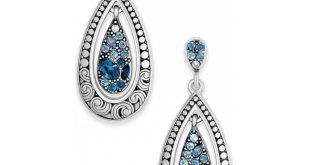 crystal voyage crystal voyage post drop earrings tdiwoqj