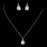 cushion cut cz wedding and prom jewelry set rflyhtq