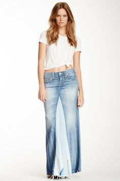 dakota love u0026 haight denim maxi skirt by true religion on @hautelook nxujrvc