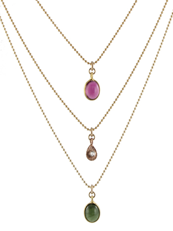delicate gold gemstone necklaces ajhtvvj