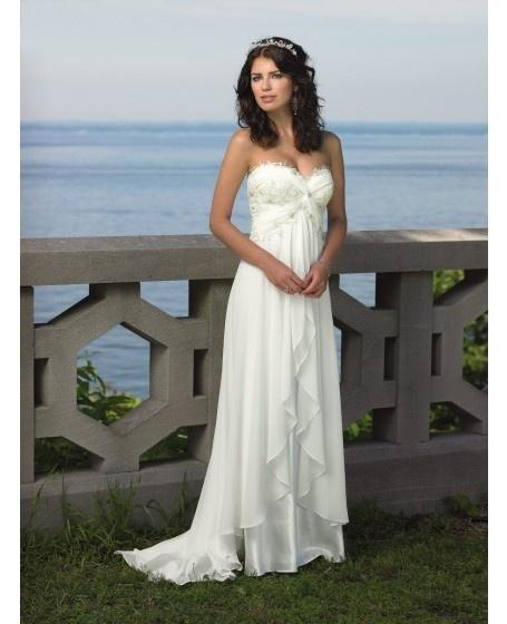 destination wedding dresses destination wedding dress sweetheart sweep train chiffon # wedding #dress rrbyfjs