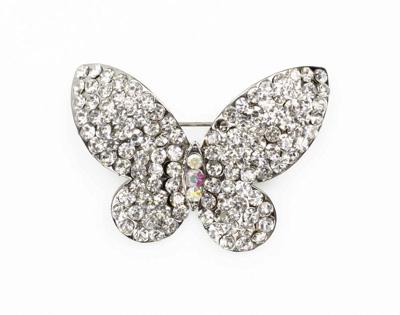 diamante butterfly brooch wenoavf