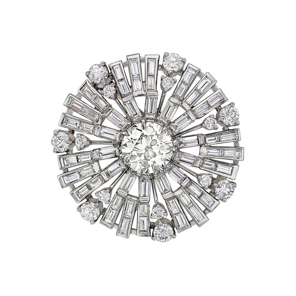 diamond brooch estate betteridge collection diamond u0027sunburstu0027 brooch qpkszph